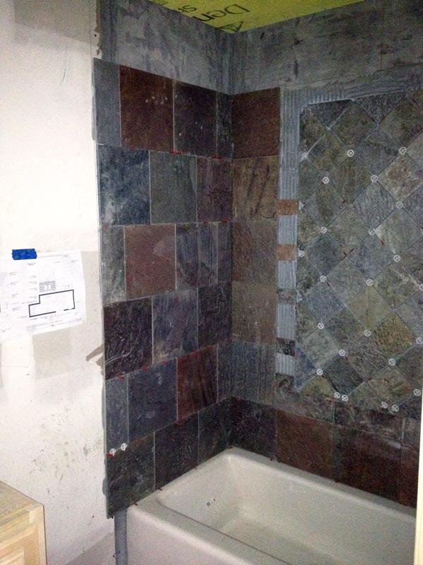 Tile Work on Harrys Lane in Preston Hollow