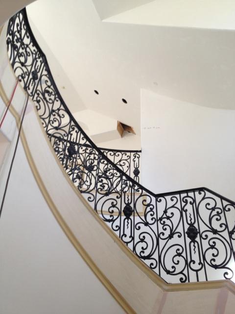 Preston Hollow Remodel Stair Baluster