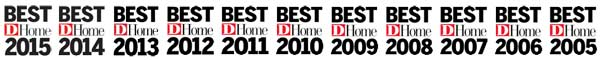 Desco Fine Homes named one of D Home's Best Builders in Dallas 2015.