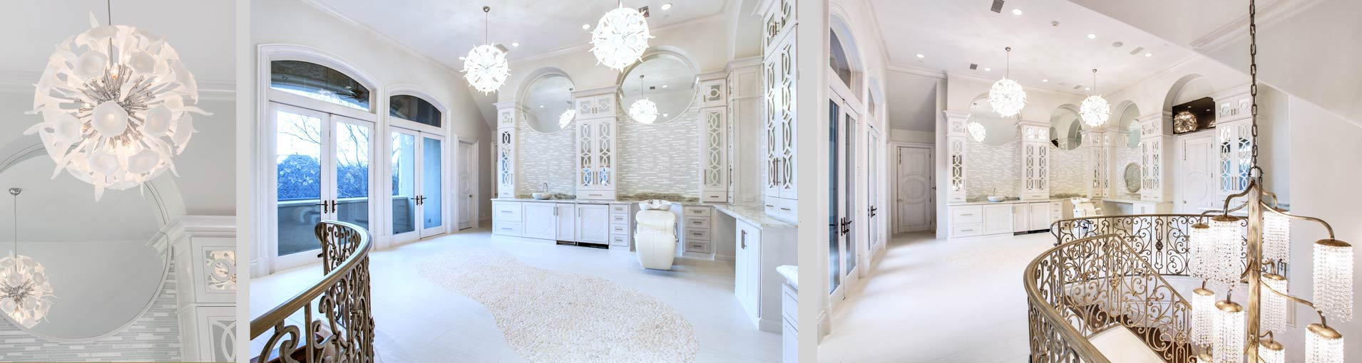 An exquisite spa remodel by Desco Homes of Dallas