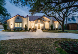 CONTRACT PENDING ON CUSTOM BUILT HOME ON MELETIO IN THE PRESTON HOLLOW AREA, DALLAS, 75230