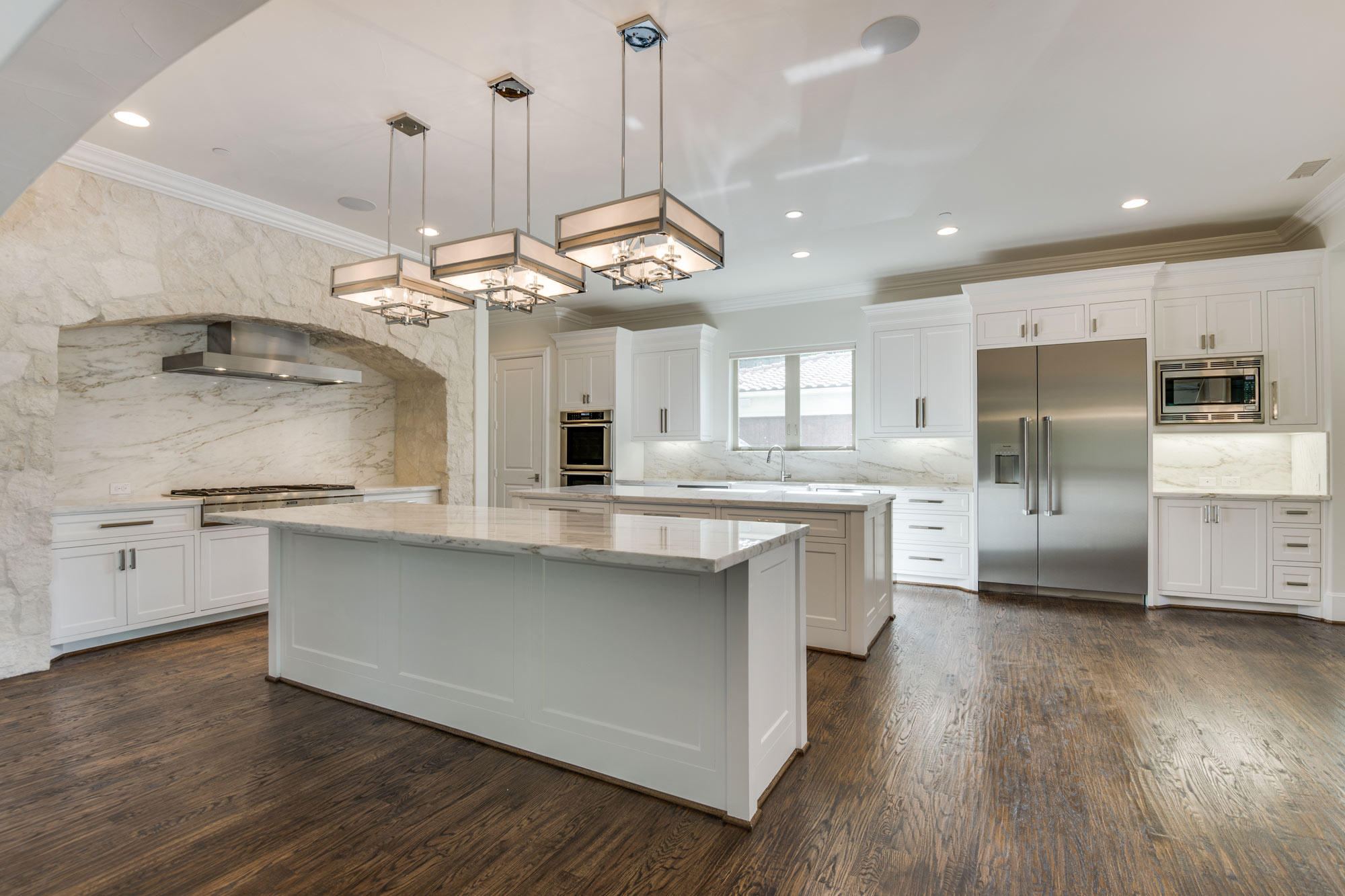 Custom Home in Prosper Texas by Desco Homes of Dallas