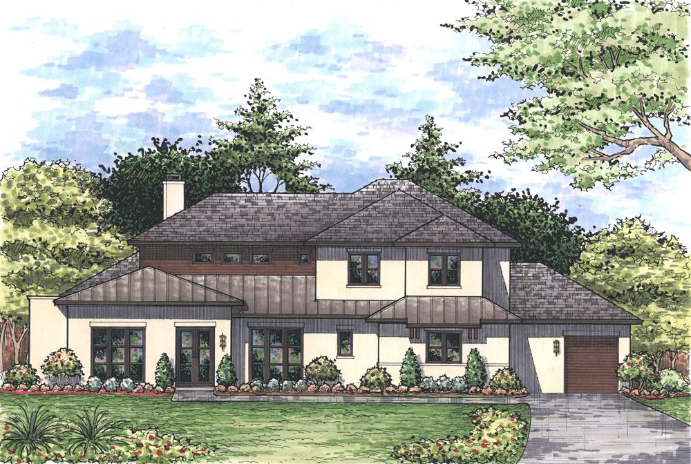 New Transitional Modern Custom Home Sold In The Preston Hollow Area Dallas