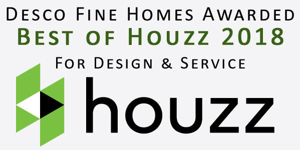Desco Fine Homes and Custom Home Builder, David Goettsche, in Dallas, TX rated at the highest level for client satisfaction by the Houzz community.